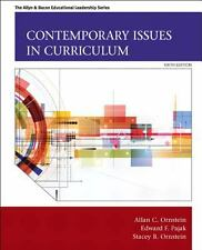 Contemporary Issues in Curriculum by Edward F. Pajak, Stacey B. Ornstein ,6ed