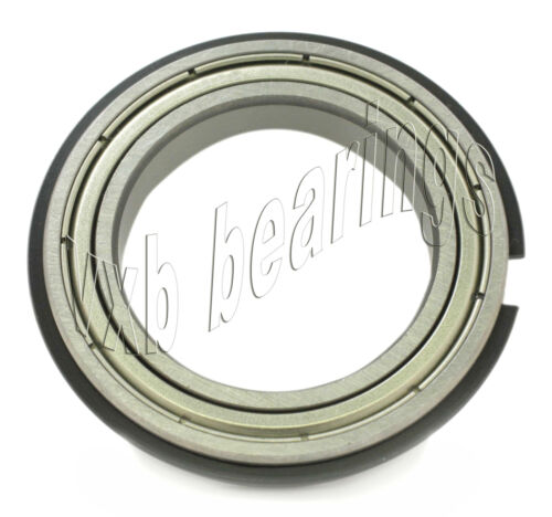 6001ZZNR Shielded Bearing with a Snap Ring 12x28x8 C Clip Dia 12mm x 28mm x 8mm