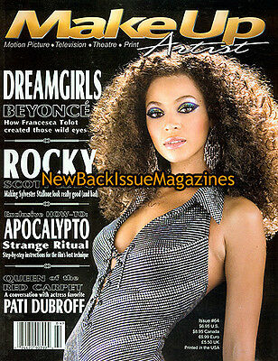 Make Up Artist 1/07,Beyonce Knowles,January 2007,NEW