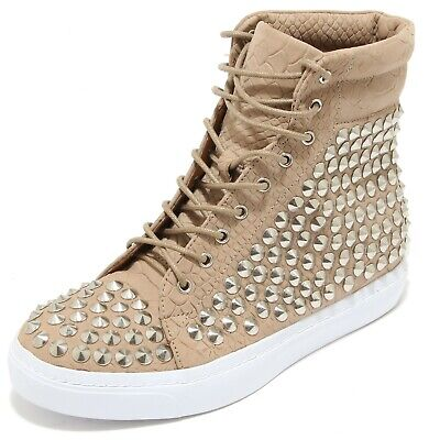 3340i Sneakers Donna Jeffrey Campbell Alva Hi St Croco Calf Scarpe Shoes Women