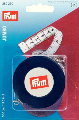 Prym Rollbandmaß Maxi Jumbo 300cm Leicht und präzise ablesbar 282260