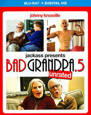 Jackass Presents: Bad Grandpa .5 (Blu-ray Disc, 2014, Includes Slip Cover)