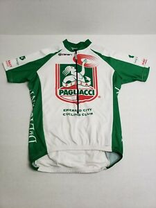 Canari-Pagliacci-Pizza-Cycling-Jersey-Unisex-Adult-Medium-HTF