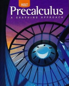 Holt Pre-Calculus by Boyer (2006, Hardcover, Student Edition