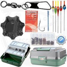 Kit accessori per la pesca a galleggiante girelle cassetta porta attrezzatu INA