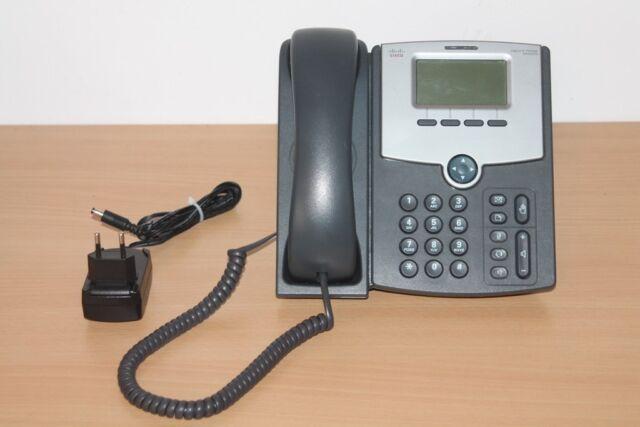 CISCO TELEPHONE IP PHONE 1 LIGNES POE + TRANSFO .. Ref: SPA502G  .  Occasion (b)