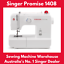 thumbnail 1 - Singer Promise 1408 Sewing Machine. Perfect First Machine, Easy to Use! NEW!