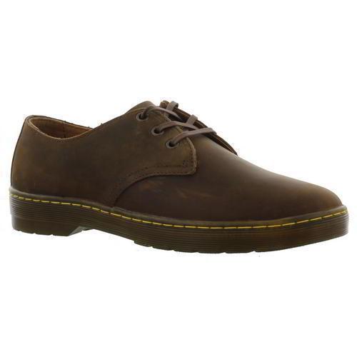 NIB  Dr Martens  Cgoldnado Mens Brown Leather Lace Up shoes SZ CLR AVA.