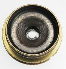 Bausch & Lomb Zeiss Protar Series V 5x7 Brass Lens  #703930
