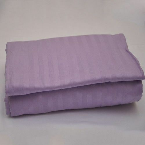 1 PC Fitted Sheet All UK Size Striped Colors 1000 Thread Count Egyptian Cotton