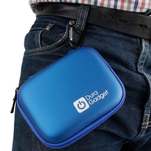 Azul duro caso para la cámara de estilo de vida oro Activeon CX