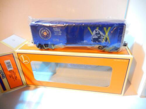 LIONEL LIMITED PRODUCTION CENTURY CLUB 671 TURBINE LOCO BOXCAR-S9 29228