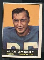 1961 Topps Football Card #3 Alan Ameche-Baltimore Colts