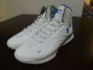 buy online b79f2 d3842 UNDER ARMOUR Curry 1 Championship Pack Splash Party 1287487 100 new ...