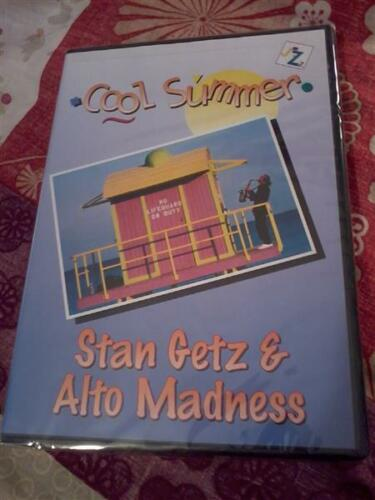 1 of 1 - STAN GETZ & ALTO MADNESS Cool Summer Jazz DVD New & sealed POST FREE