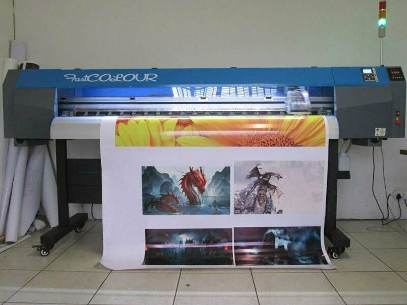 F-1867/AQUA/DX5 FastCOLOUR 1860mm EPSON DX5 Printhead Large-Format Water Based Dye or