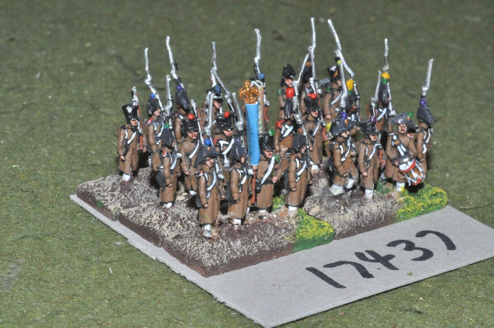 15mm napoleonic   french - infantry 24 figs - inf (17437)
