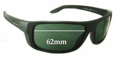 SFX Replacement Sunglass Lenses fits Spotters Slider 60mm Wide