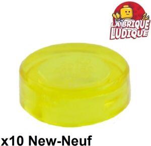 rund flach 1x1 Fliese neu NEW gelb, gelb 6 x LEGO 98138 Platte rund