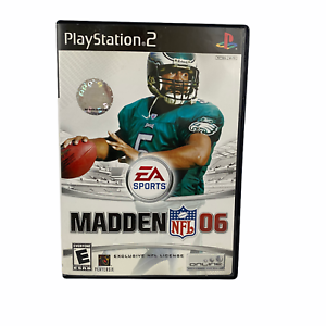Madden 2006 Sony PlayStation 2 PS2 Football Complete Manual EA Sports