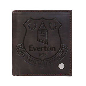 Newcastle United FC Official Football Gift Luxury Brown Faux Leather Wallet
