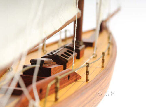 """Details about  /Eric Tabarly/'s Pen Duick Wooden Sailboat Model 24/"""" Yacht Fully Assembled New"""