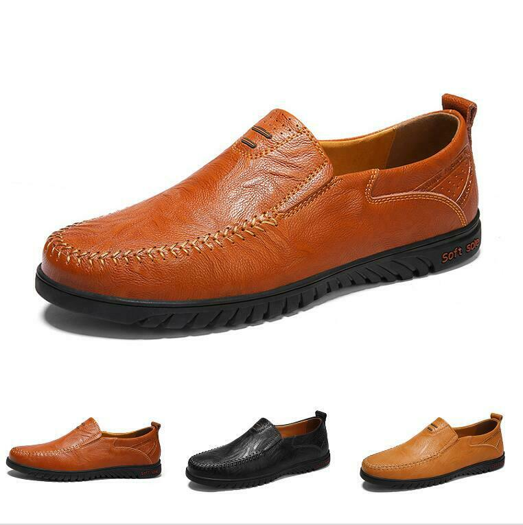 Men's Fashion Comfort Pull On Comfort Breathable Casuals Dress Formal shoes New