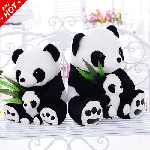 NEW Soft Plush Cotton Stuffed Cute Panda Bear Animal Toy Doll For Kids 2017