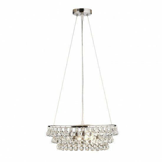New The White Company Small Solid Gl Orb Ceiling Light Chandelier Rrp 225