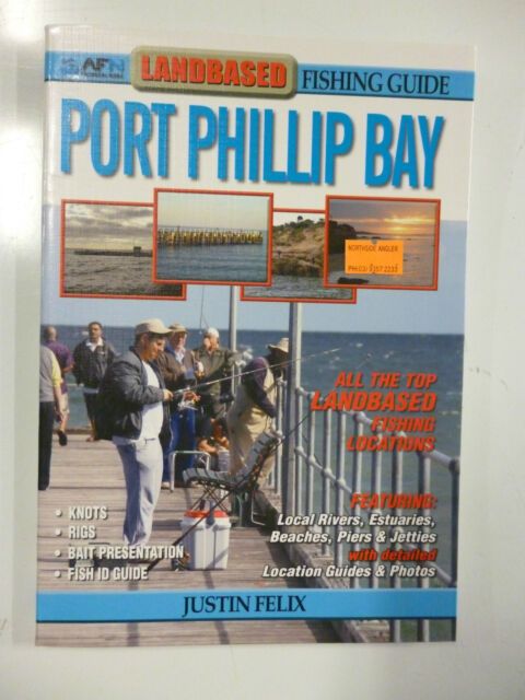 Landbased fishing Guide Port Phillip Bay Current Ed Free Shipping!