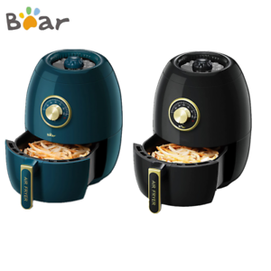 BEAR 3L Freidora de aire caliente doble botón sin aceite Temporización regulable