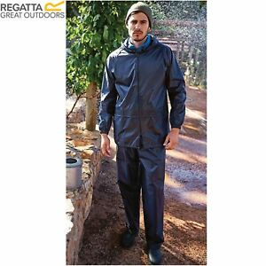 competitive price cute cheap new collection Details about MENS REGATTA ADULT 2 PIECE RAIN SUIT WATERPROOF JACKET  TROUSERS SET