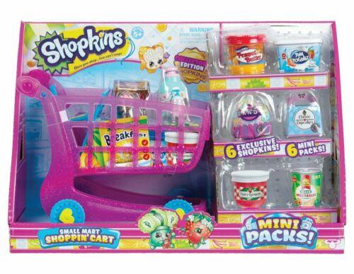 """Shopkins PICCOLA MART SHOPPING /""""Carrello Esclusivo Mini Pack raccogliere Bambini Giocattolo"""