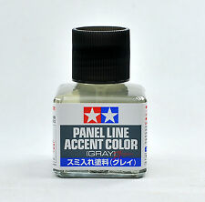 Tamiya 87133 Panel Line Accent Color Gray 40ml