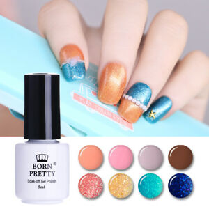 Nail-Art-One-step-Gellack-UV-Gel-Polish-Colorful-Soak-Off-Manikuere-BORN-PRETTY