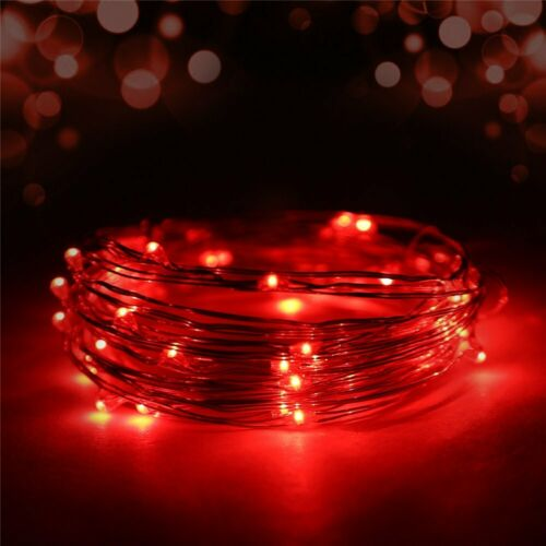 LED Christmas Light Wedding Party Holiday Xmas Decor Fairy String Lights US Plug