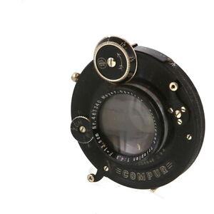 Vintage-Meyer-Gorlitz-13-5cm-F-4-5-Trioplan-Anastigmat-in-Dial-Compur-Shutter-AI