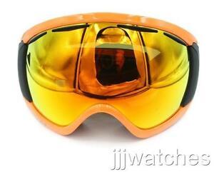 f748342b5ed0 New Oakley Canopy Herb Orange Fire Iridium Snow Goggles OO7047-10 ...