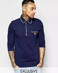 eee5e3e587 Details about Ellesse Men's Polo Shirt Xs Blue