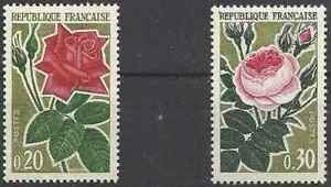 Timbres-Flore-Roses-France-1356-7-37989