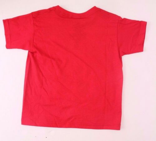 Original Marvel Comics Spider-Man Kids Boys Red T-Shirt Sizes 2Y,3Y,4Y,5Y NWT