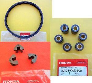 Honda-GENUINE-PCX125-Drive-Belt-amp-Rollers-amp-Slider-Set-2009-2014-UK-STOCK