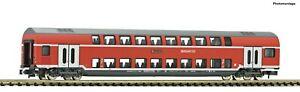 Fleischmann-N-862809-Doppelstockwagen-2-Klasse-der-DB-AG-NEU-OVP