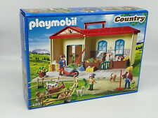 PLAYMOBIL Country Mitnehm-Bauernhof Stall Set Spielzeug Geschenk Kinder 4897