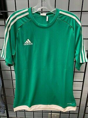 Adidas Estro 15 Soccer Jersey Bright Green/White | eBay