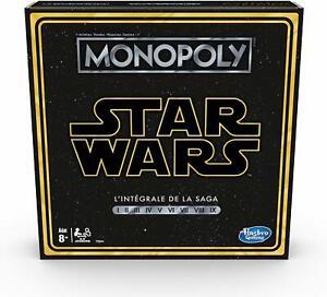 Monopoly-Star-Wars-Saga-Jeu-de-societe-Jeu-de-plateau-Version-francaise