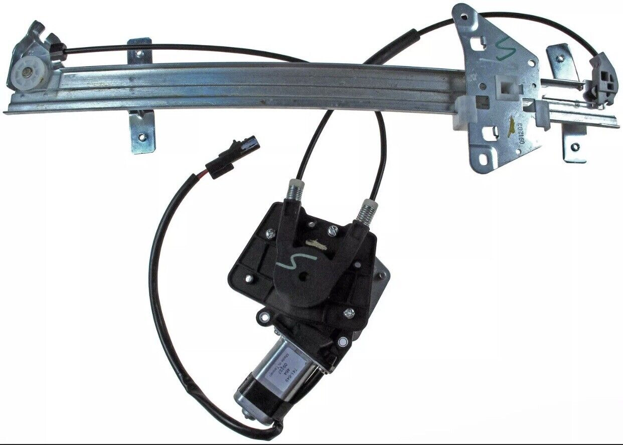 SHOWSEN 741-599 Rear Passenger Power Window Regulator W//Motor Fit 00-04 Dakota 98-03 Durango
