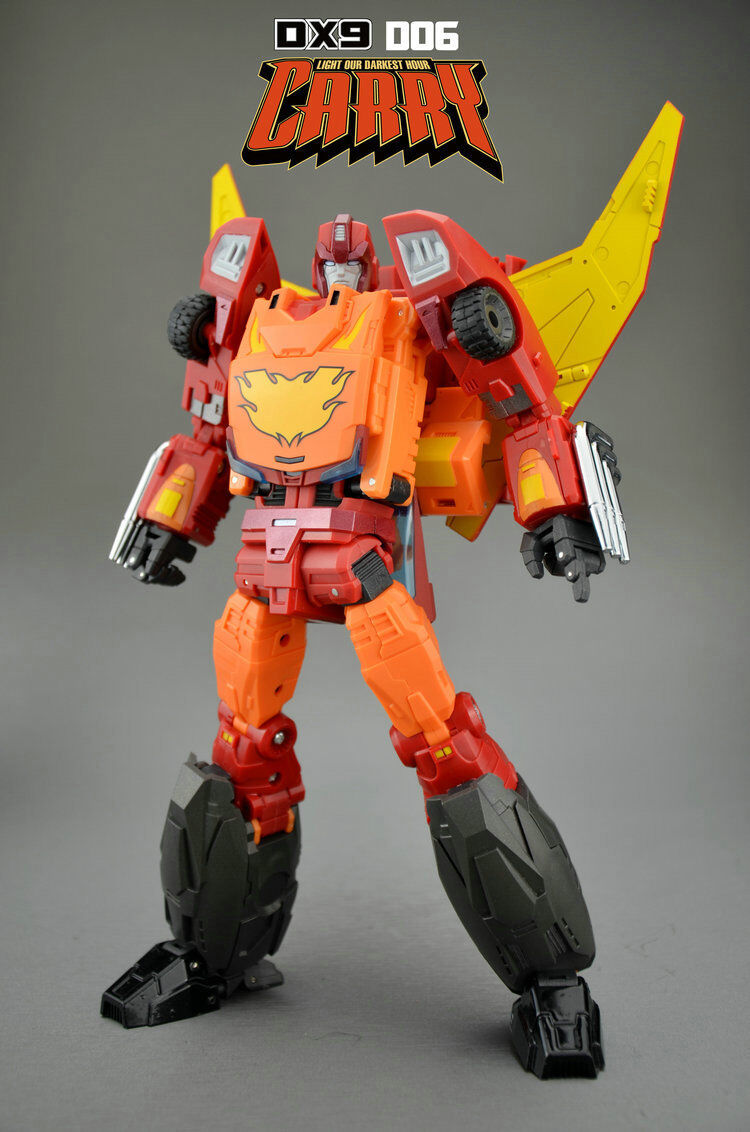 [giocattoli Hero] In He Transformers DX9 D06 D06 D06 primary G1 patch caliente rod autoRY e1ad74