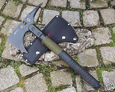MTECH Rettungsaxt Taktische Axt Beil Camping Tomahawk Survival Bushcraft MTAXE10
