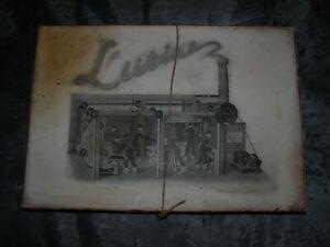 Ancien jeu de construction - L'Usine - Société R V - jouet jamais monté.